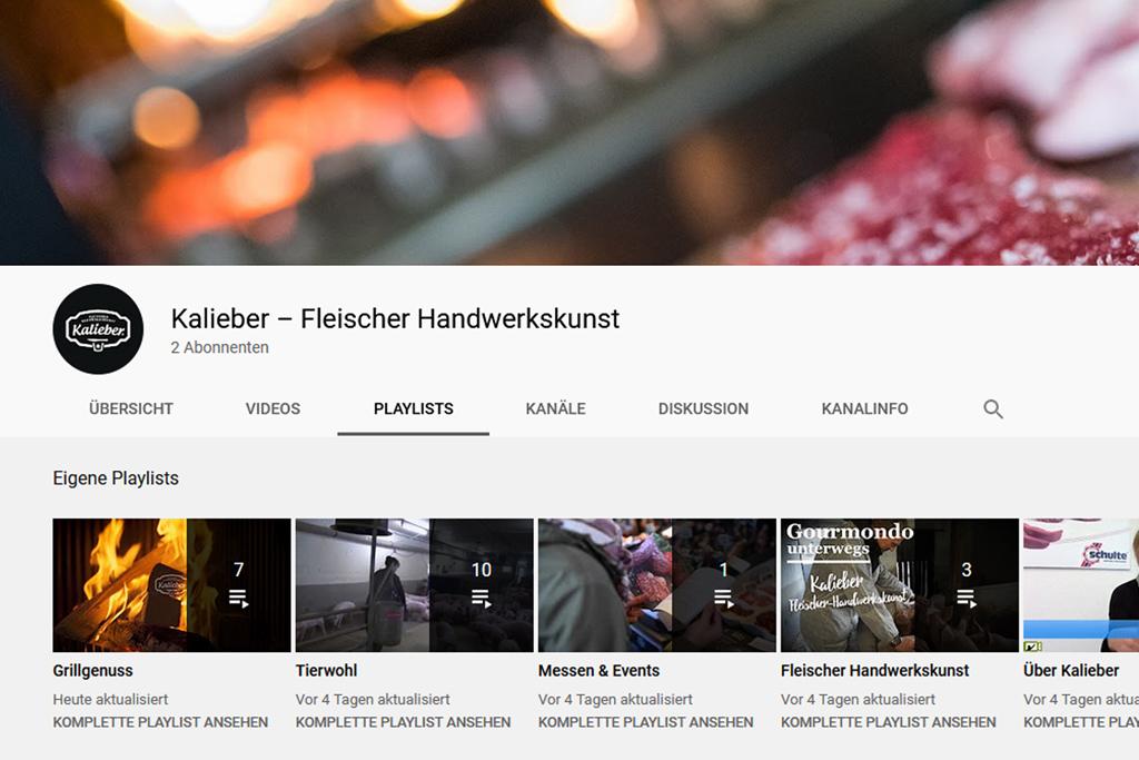 Kalieber YouTube-Channel